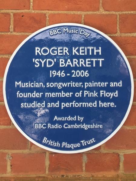 Syd's Blue plaque (c) Phil Mynott