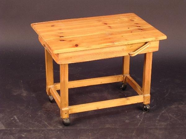 Work Trolley Shelf Unit Pink Chair Low Table Syd Barrett ...